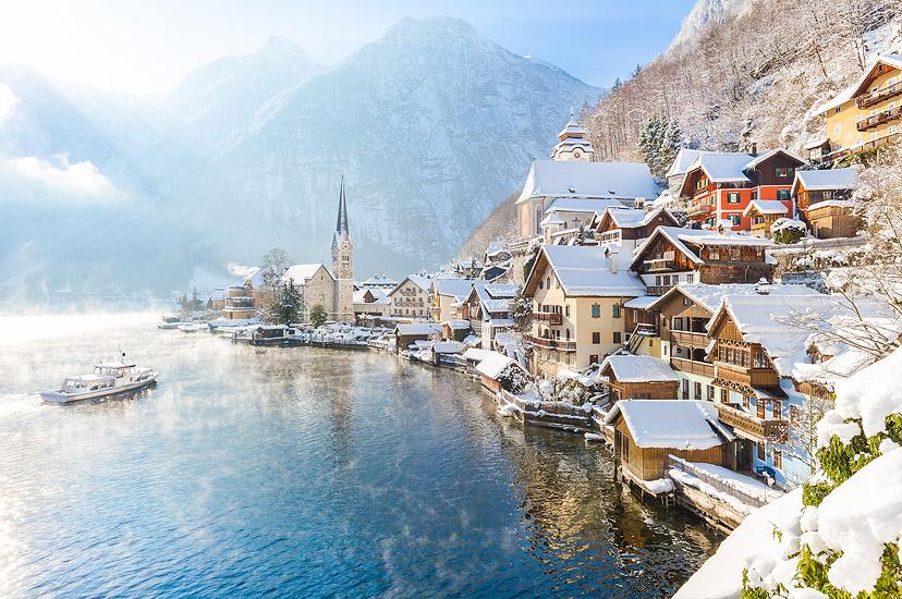 Austrija: Jezero Hallstatt