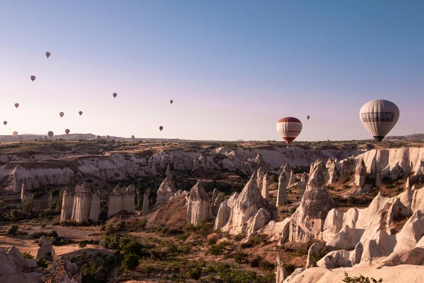 Turska, Kapadokija