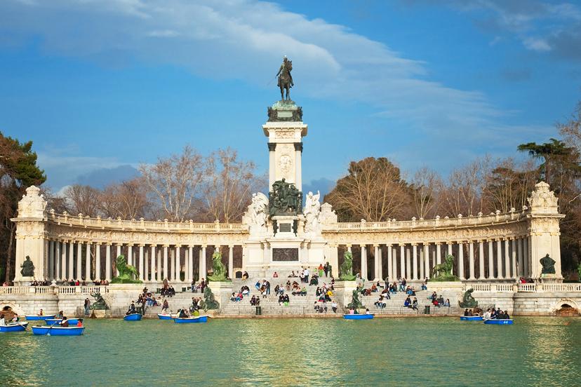 Putovanje u Madrid, Park Retiro