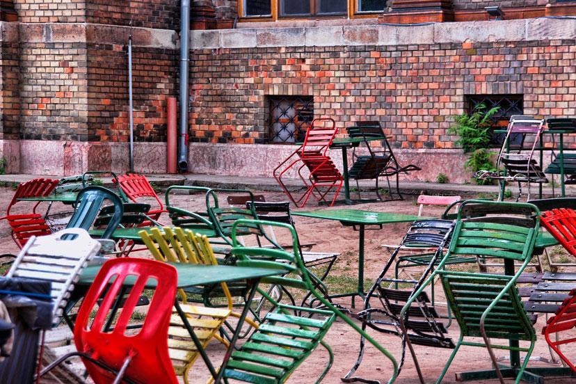 Beer garden, Budimpešta, InterCity