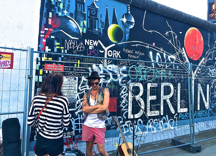 Ljetne destinacije za solo putnike, Berlin, Njemačka
