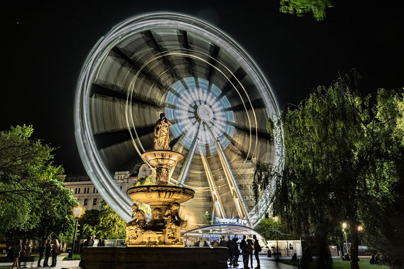 Budapest eye, Budimpešta, InterCity