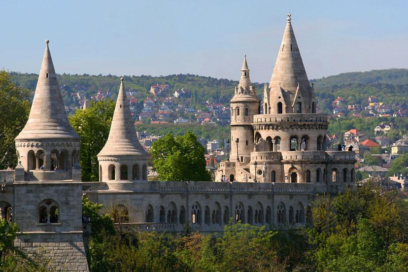 Ribarov bastion, Budimpešta, InterCity