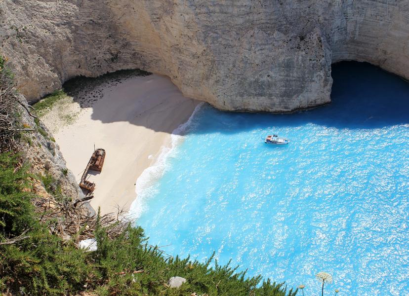 Ljetne destinacije za solo putnike,Zakynthos, Grčka