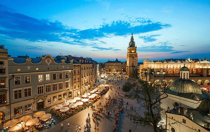 13 najjeftinijih destinacija u Europi, Krakov, Poljska