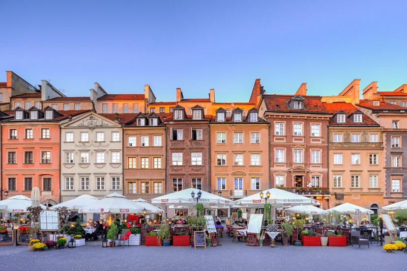 13 najjeftinijih destinacija u Europi, Varšava, Poljska