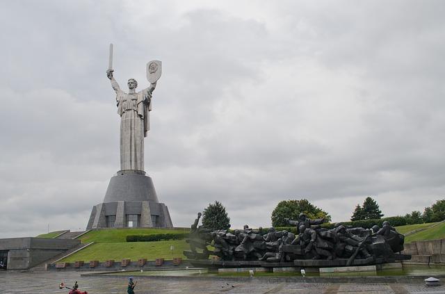 Spomenik Majka Domovina, Kijev, Ukrajina