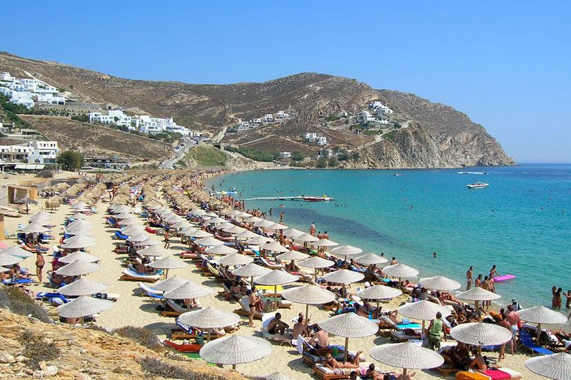 Elia, Mykonos, Grčka