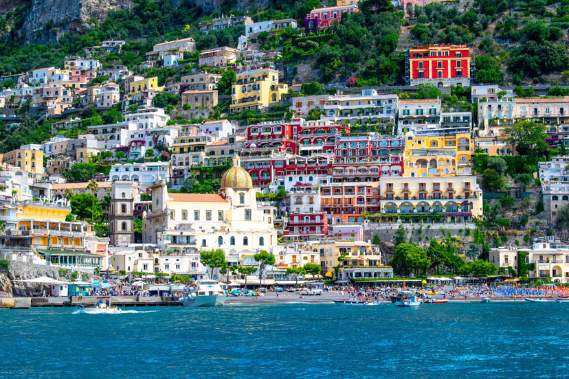Najbolje plaže prema horoskopu, Positano, Italija