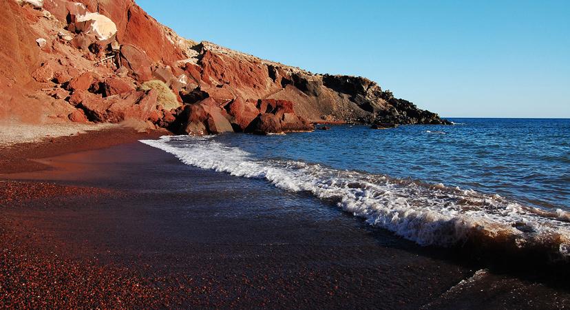Crvena plaža, Santorini, Grčka