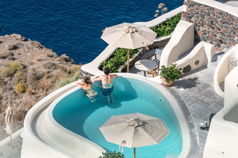 Oia, Santorini, Grčka