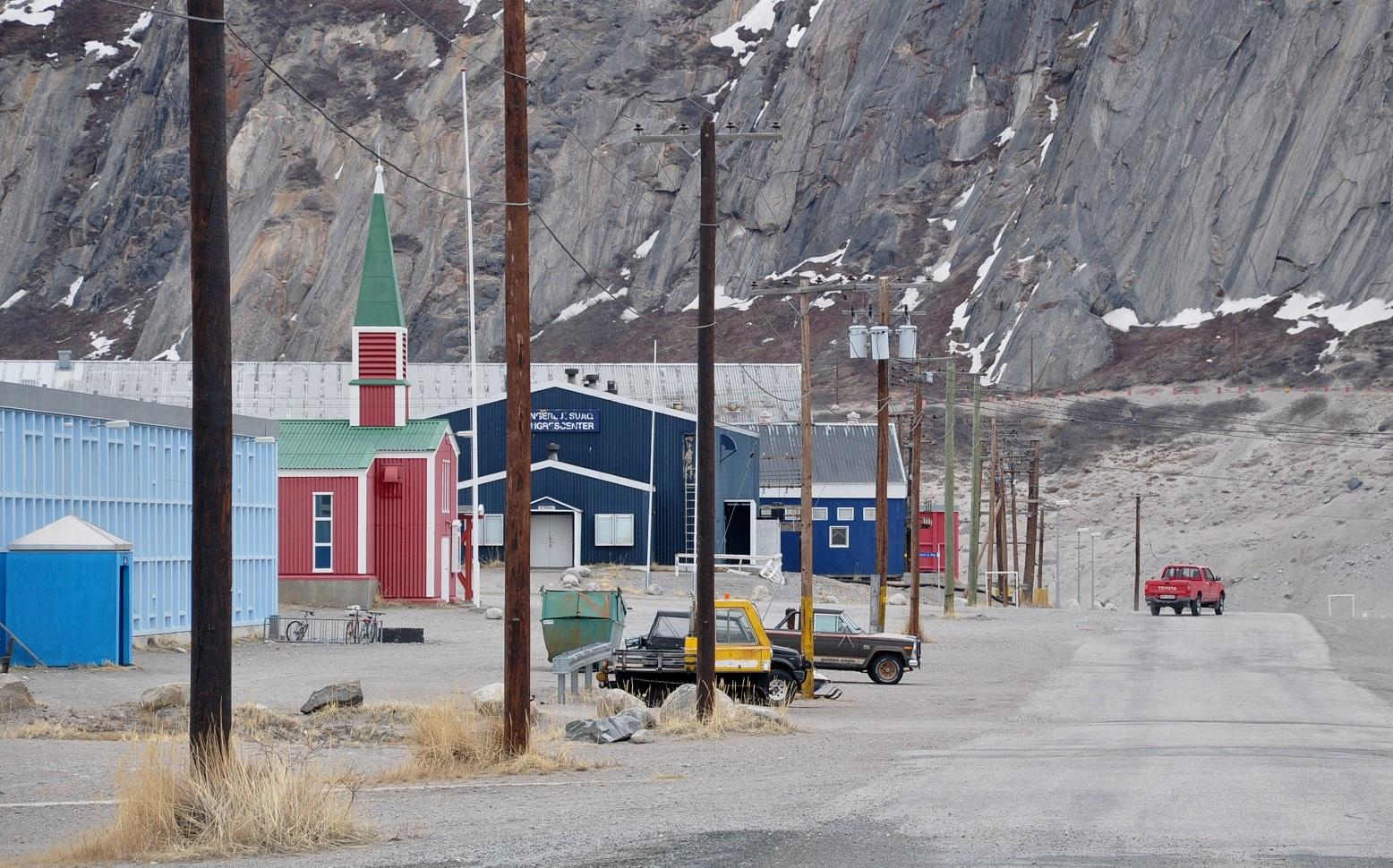 Kangerlussuaq, Grenland