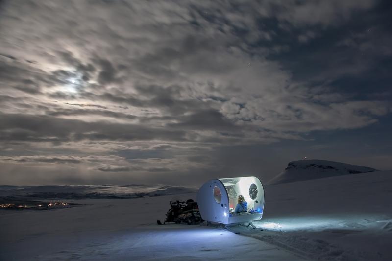 Kilpisjärvi, Finska, aurora borealis