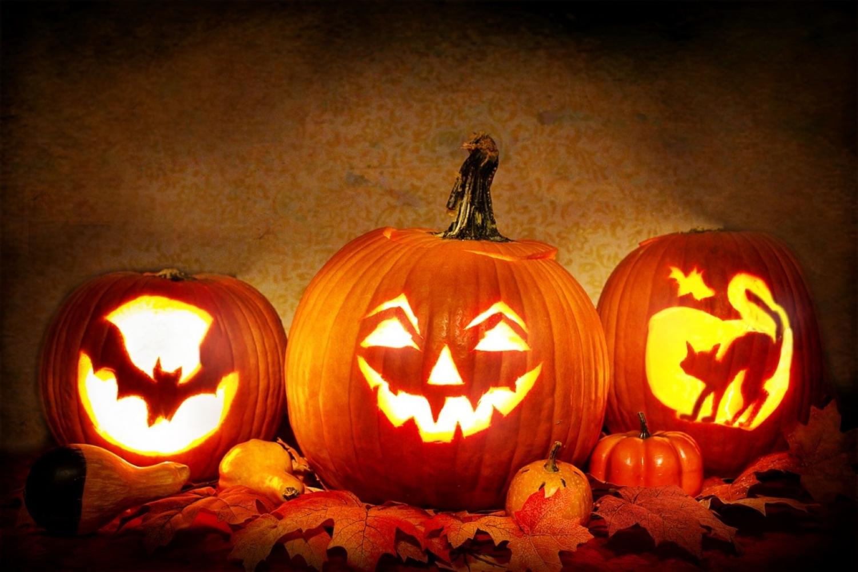 Noć vještica, Halloween, bundeve