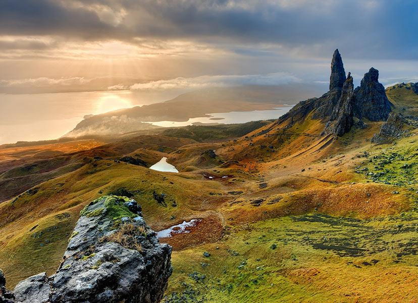 Nacionalni park Cairngorms, Škotska