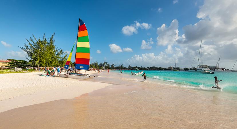 Putovanje na Rihannin Barbados, Browne's beach