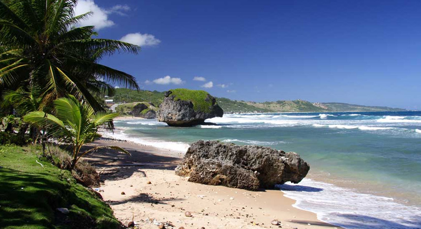 Putovanje na Rihannin Barbados, Bathsheba beach