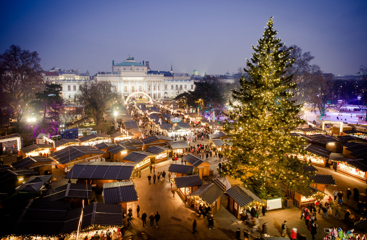 Božićni sajam, Beč