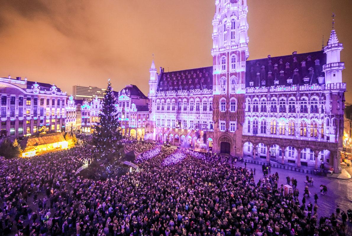 Božićni sajam, Bruxelles