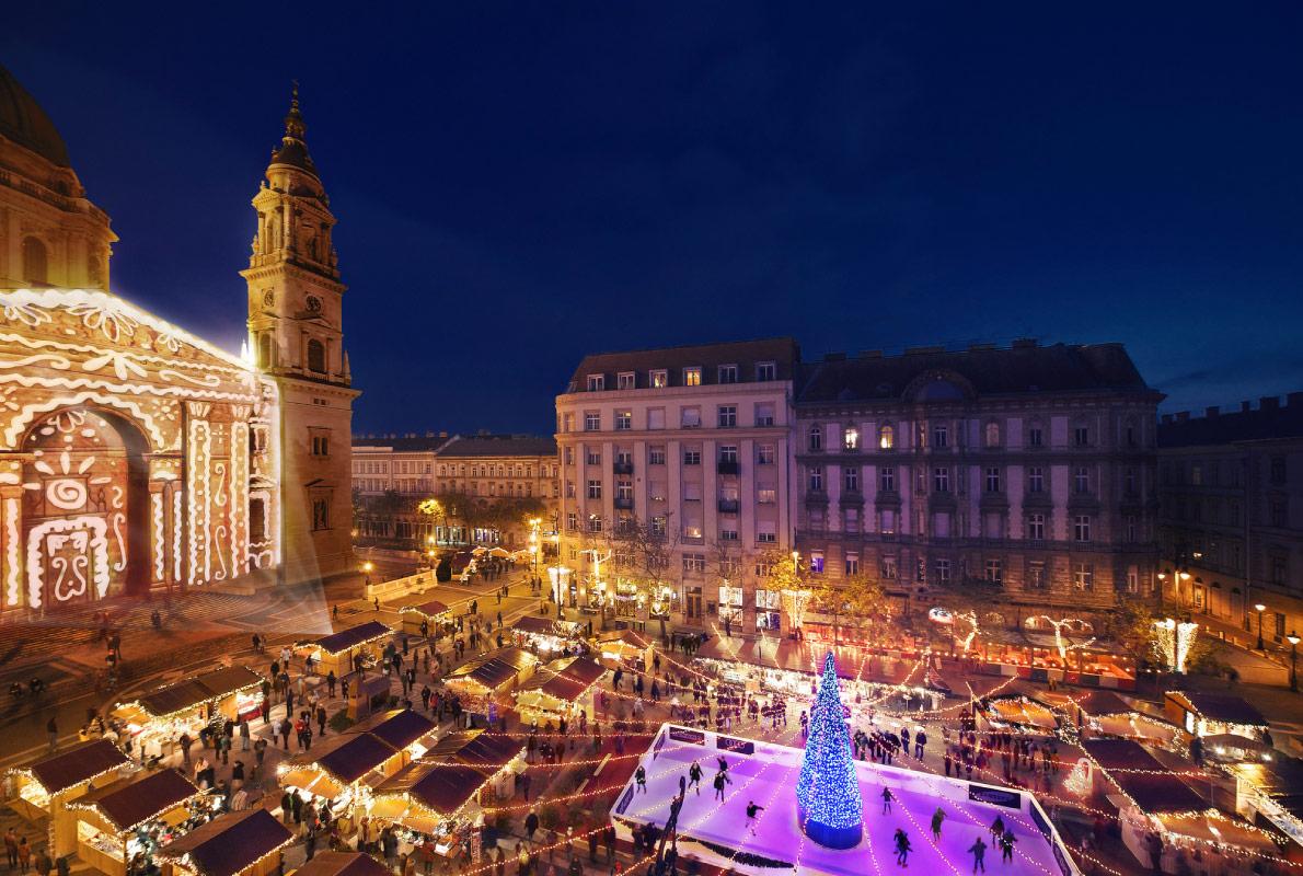 Božićni sajam, Budimpešta