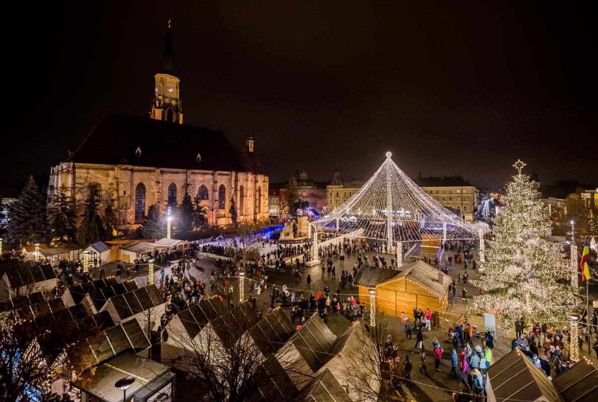Božićni sajam, Cluj-Napoca