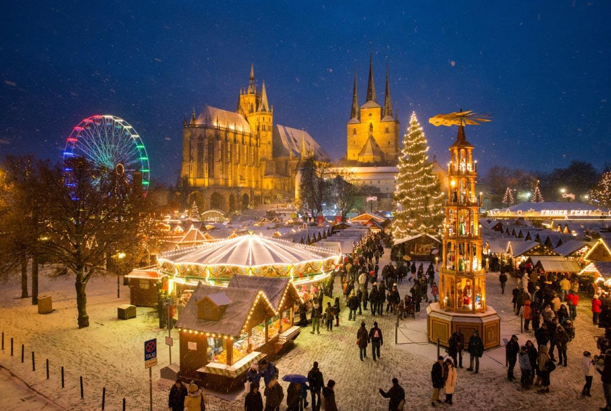 Božićni sajam, Erfurt