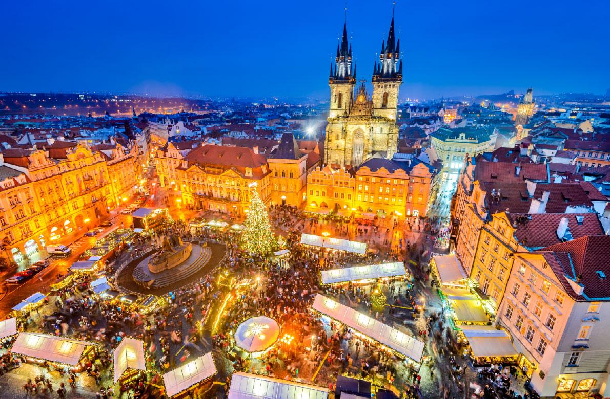 Božićni sajam, Prag