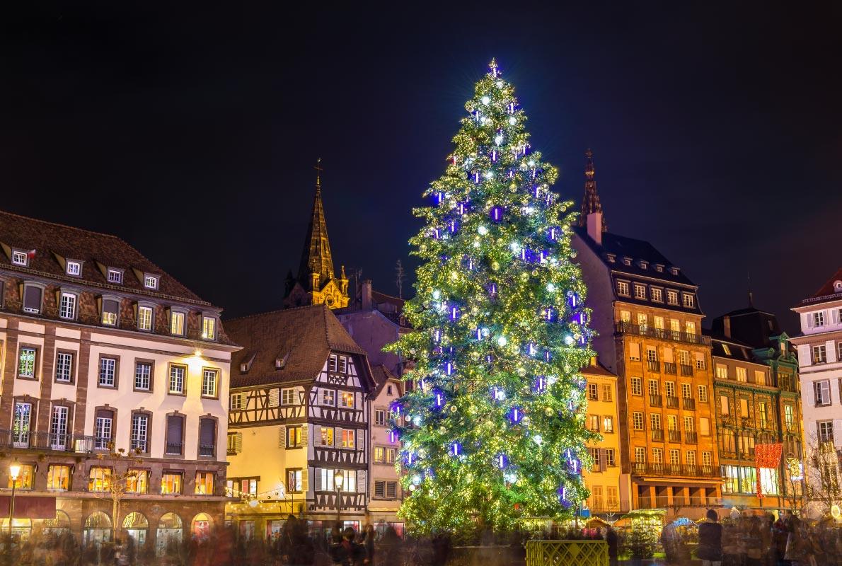 Božićni sajam, Strasbourg