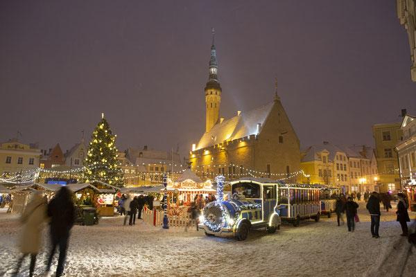 Božićni sajam, Tallin