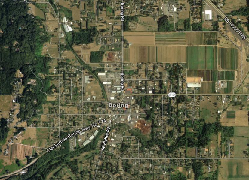 Neobična imena mjesta, Boring, Oregon