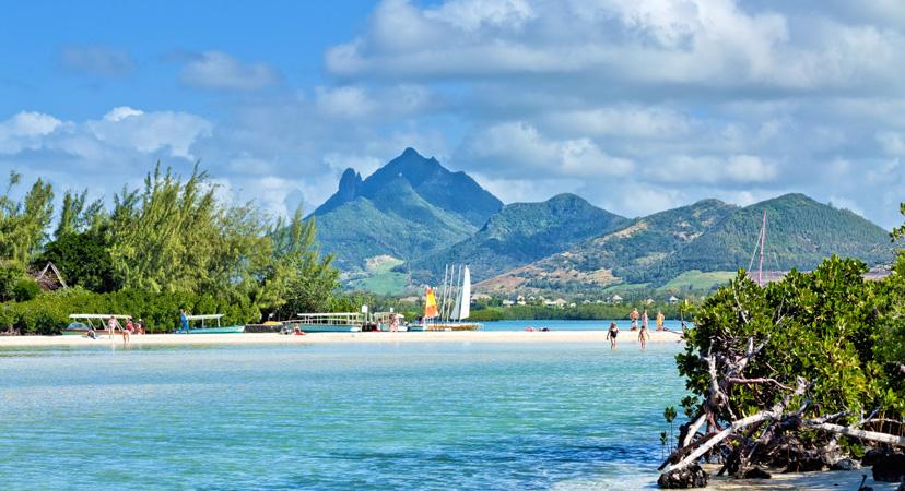 Putovanje na Mauricijus, Ile aux Cerfs