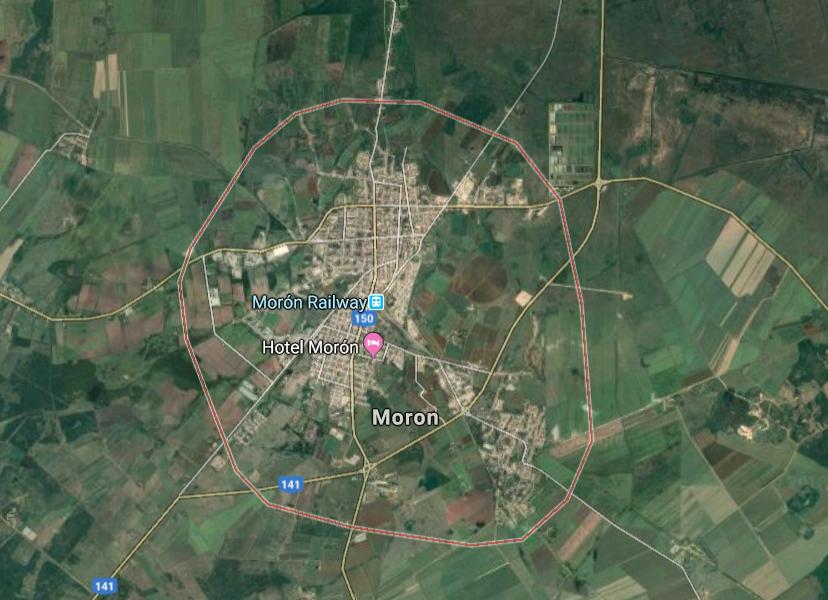 Neobična imena mjesta, Moron, Kuba