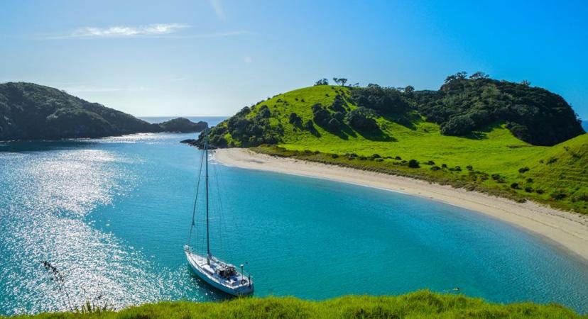 Novi Zeland, Paihia beach