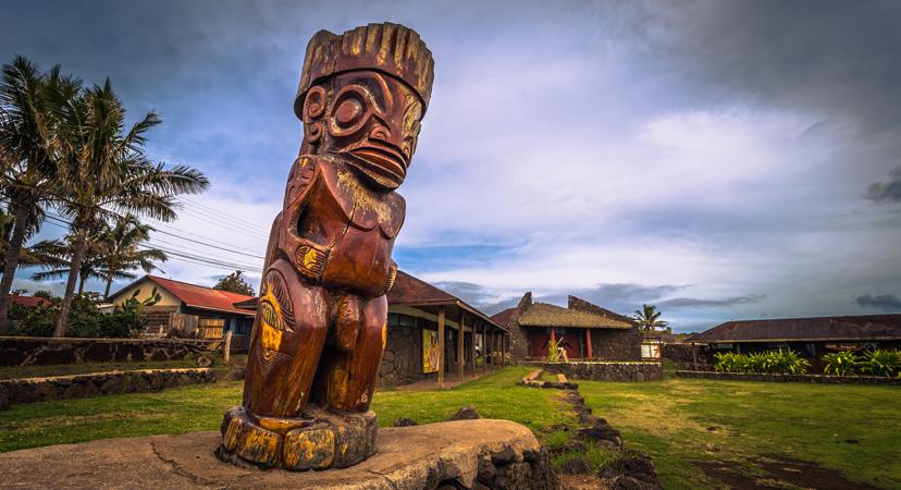 Novi Zeland, Maorsko selo