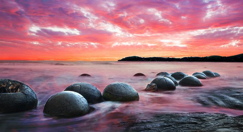 Novi Zeland, Moeraki Boulders