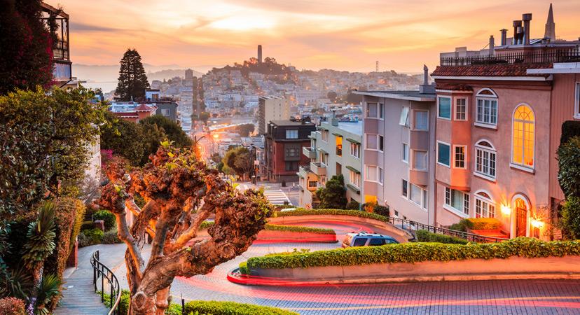 San Francisco Lombard ulica