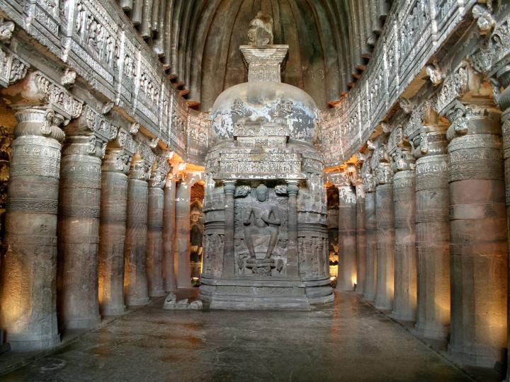 50 najljepših destinacija u Aziji, Ajanta Caves, Indija