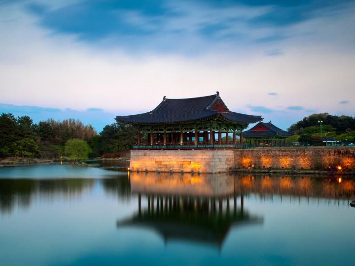 50 najljepših destinacija u Aziji, Donggung palača i jezero Wolji Pond, Gyeongju National Park, Južna Koreja
