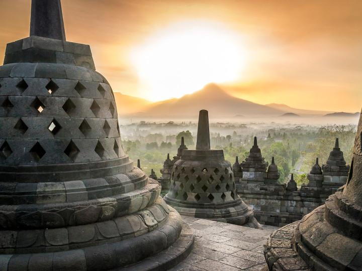 50 najljepših destinacija u Aziji, Borobudur, Java, Indonezija
