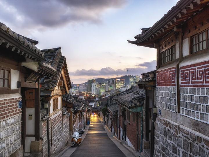 50 najljepših destinacija u Aziji, Bukchon Hanok Village, Seul, Južna Koreja