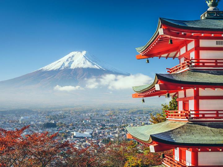 50 najljepših destinacija u Aziji, Planina Fuji, Japan