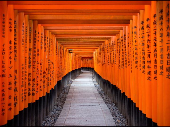 50 najljepših destinacija u Aziji, Fushimi Inari-Taisha, Kyoto, Japan