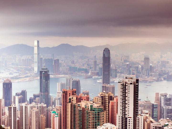 50 najljepših destinacija u Aziji, Neboderi u Hong Kongu
