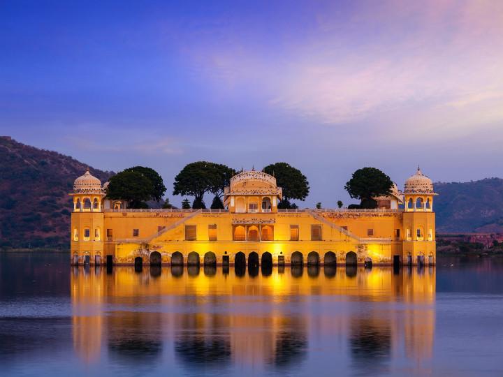50 najljepših destinacija u Aziji, Jal Mahal, Indija