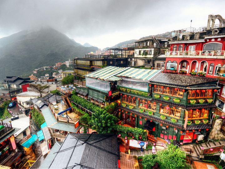 50 najljepših destinacija u Aziji, Jiufen, Tajvan