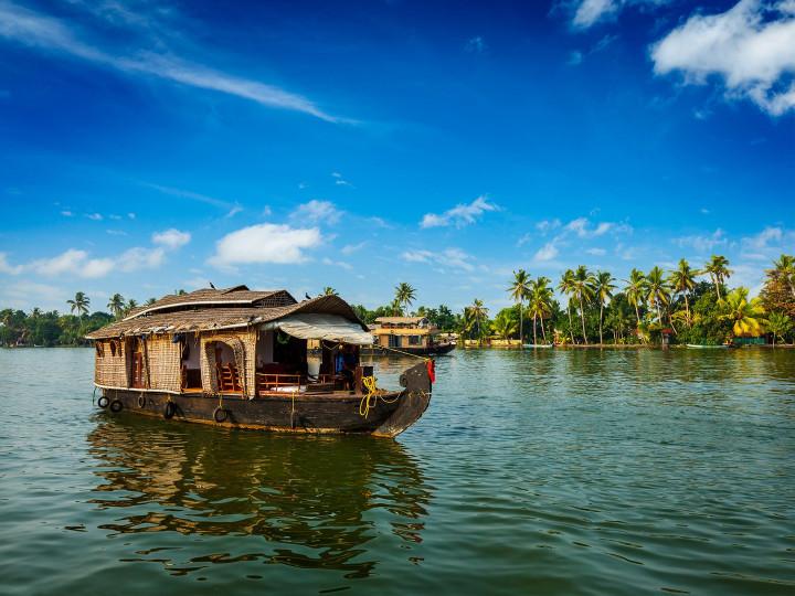 50 najljepših destinacija u Aziji, Kerala Backwaters, Indija