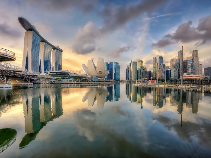 50 najljepših destinacija u Aziji, Neboderi u Singapuru