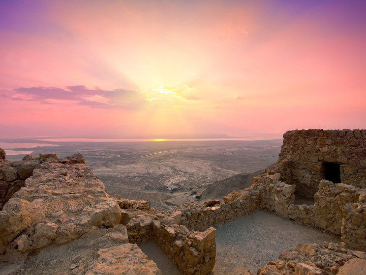 50 najljepših destinacija u Aziji, Masada, Izrael