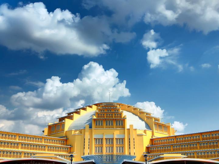 50 najljepših destinacija u Aziji, Glavna tržnica Phnom Penh, Kambodža