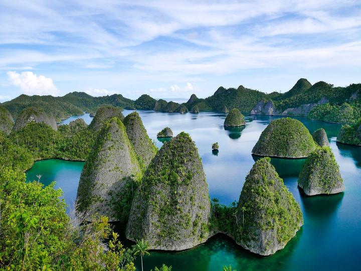 50 najljepših destinacija u Aziji, Otočje Raja Ampat, Indonezija